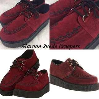 Maroon Creepers