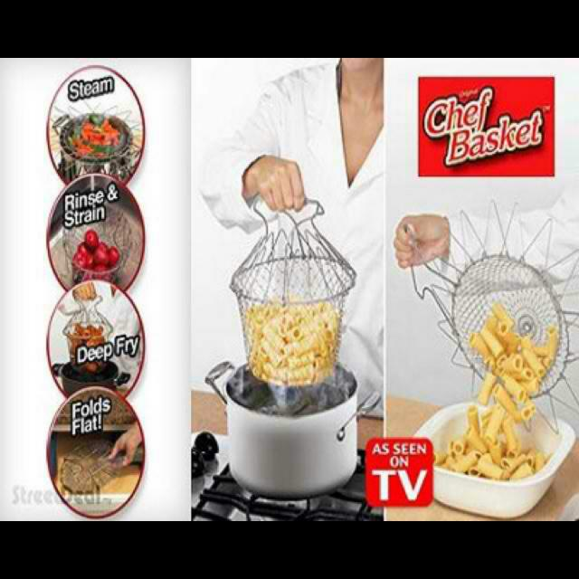 12 in 1 MAGIC KITCHEN CHEF COLLANDER