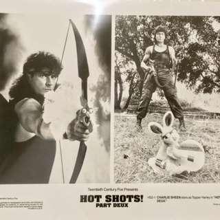 HOT SHOTS PART DEUX (1993) Movie Still 8x10 of Charlie Sheen