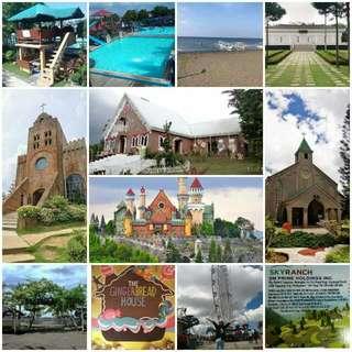 Cavite - Batangas Day Tour   August 12 Saturday   999php