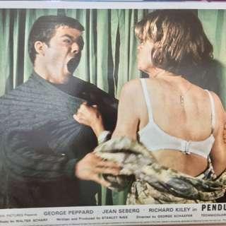 PENDULUM (1969) Front of House Movie Lobby Card 8x10