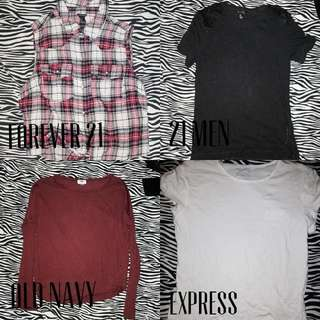 Tops & Pullovers