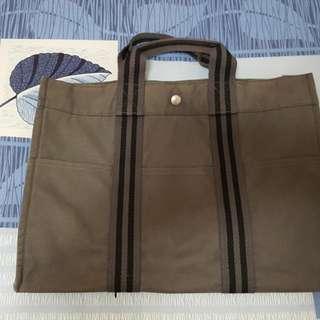 🚚 (正品)Hermes帆布包