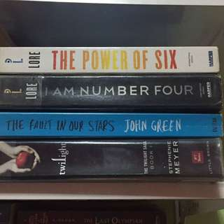 Fiction/Young Adult Books