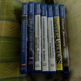 PS Vita Used Games