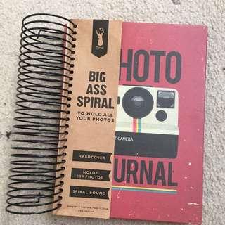 Typo Photo journal