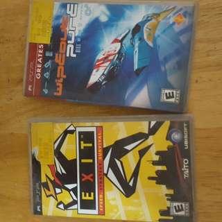 Preloved PSP Games