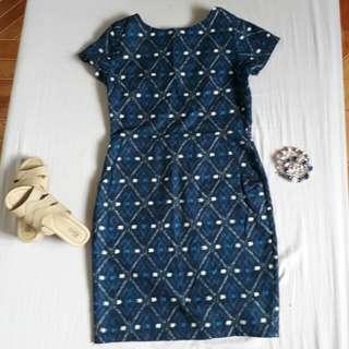 Blue Dress #Hugotgamit #Freedelivery