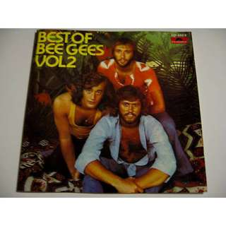 BEE GEES Best of Vol 2 Made In West Germany Polydor