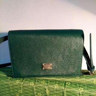 Green Oxford Bag