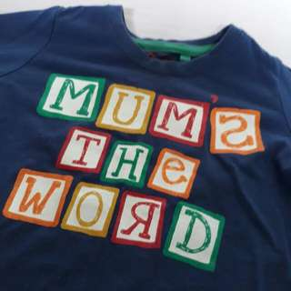 Mum's The Word Longsleeve #Below200