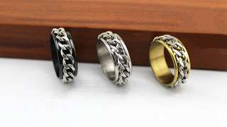 mens chain rings sizes 11