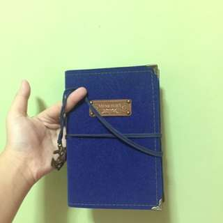 Navy Blue Journal