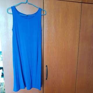 Blue UNIQLO Dress