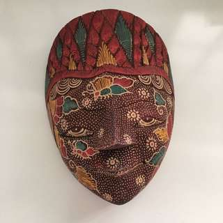 BN African Tribal Mask Decoration