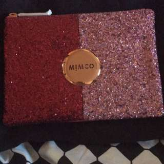 BNWT Mimco Sparks Pouch Pink