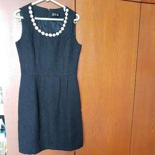 ISA Black Dress