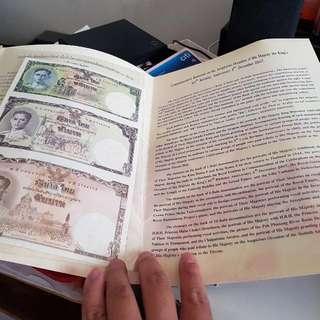 80yh Birthday Thai King Commemorative Notes