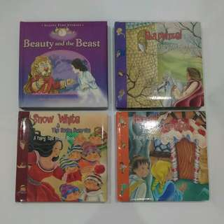 Fairy Tales Board Books - 4 Books