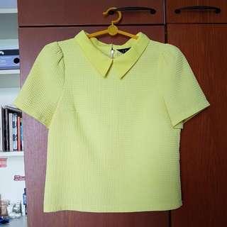 ISA Short Sleeved Yellow Top
