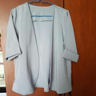 Casual Blazer Grey
