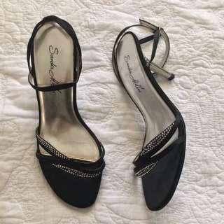 Sandra Miller Skinny Strap Heels