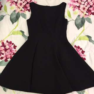 Fit & Flare Black Dress