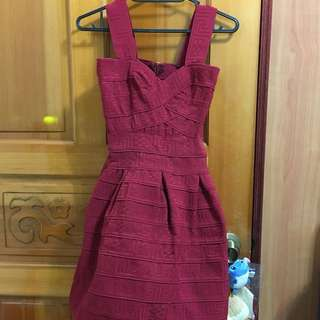 《全新》紅色洋裝