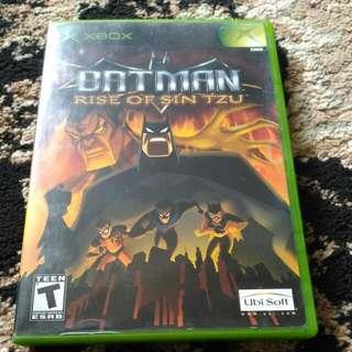 XBOX - Batman Rise Of Sin Tzu