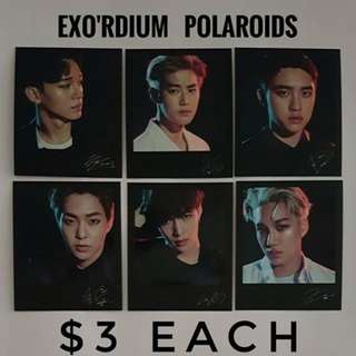 EXO'rdium Polaroid