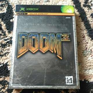 XBOX - Doom 3 Limited Collector's Edition