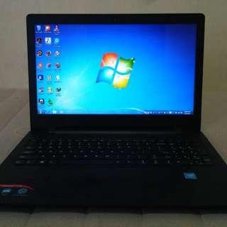 Laptop LENOVO IDEAPAD 110 MULUS LIKE NEW