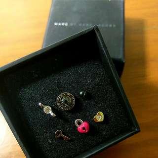 Genuine Marc Jacobs Tiny Stud Earrings