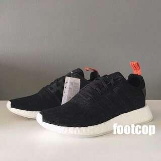 Adidas NMD R2 Black / Future Harvest