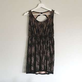 Pull & Bear Lace Dress
