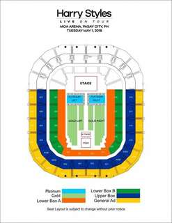 HARRY STYLES MANILA TICKETS