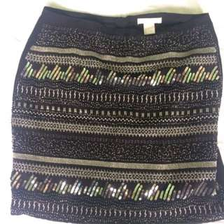 H & M Sequined Skirt