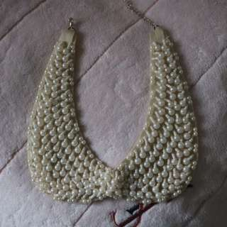 Old Fashioned Collared Necklace