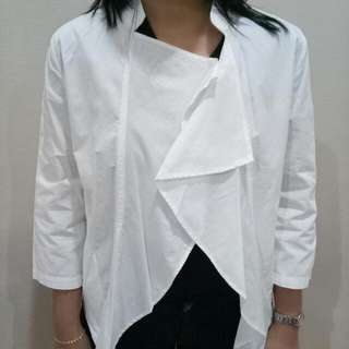 White detail Jacket