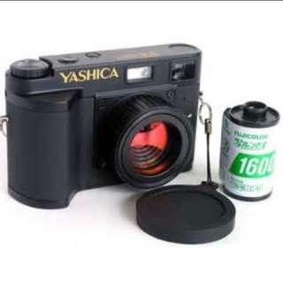 Yashica ez f521 數位相機 lomo相機 極新 改機暗角