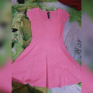 Mini Dress Peach