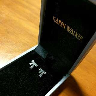 Genuine Karen Walker Bow Earrings