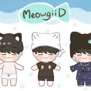 BTS YOONGI DOLL BY @MeowgiiD