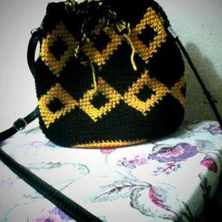 Crochet Wayuu Bag
