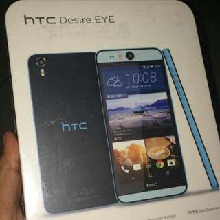 Android HTC Desire Eye 16GB blue + case HTC Dot View-Premium Blue