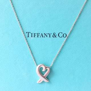 AUTHENTIC TIFFANY & CO Heart Pendant / Necklace