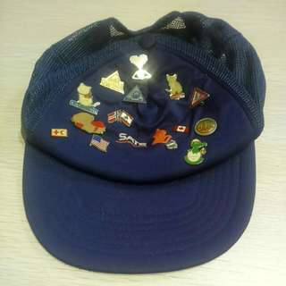 Vintage SIA Cap With Badges