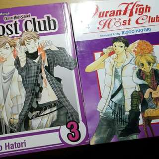 Ouran Vol. 3&4!
