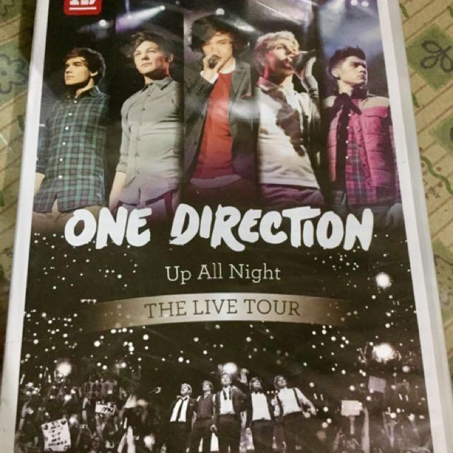 1D Up All Night concert DVD