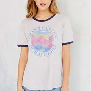Small *Urban Outfitters* Grand Canyon Ringer Tee